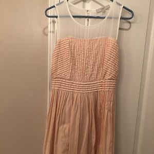 Sheer Overlay Blush Sundress